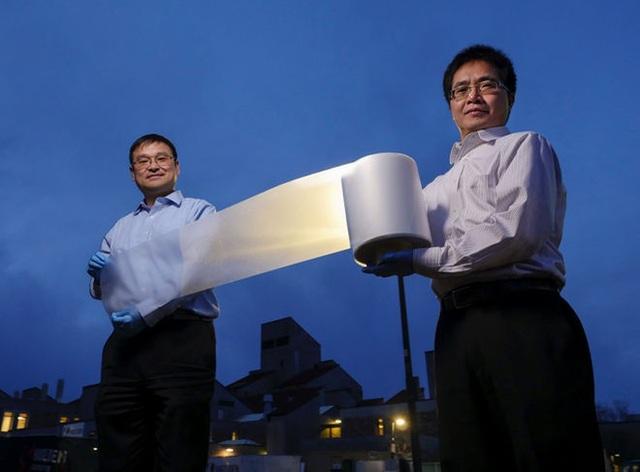 Giấy cuộn phản xạ nhiệt có thể làm mát mà không cần điện - 1