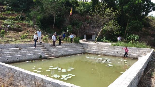 Giếng chùa Hàm Long - nơi 4 nữ sinh bị đuối nước thương tâm.