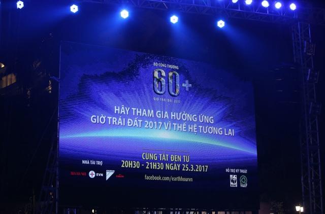 Đếm ngược trước sự kiện Giờ Trái đất năm 2017 tại Việt Nam - 1