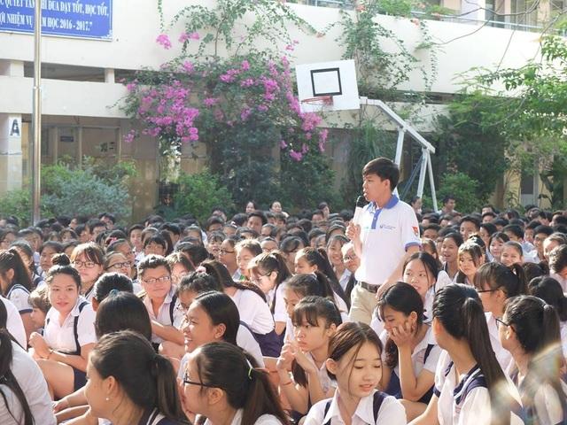 Học sinh ở TPHCM trong chuyên đề về phòng chống xâm hại tình dục