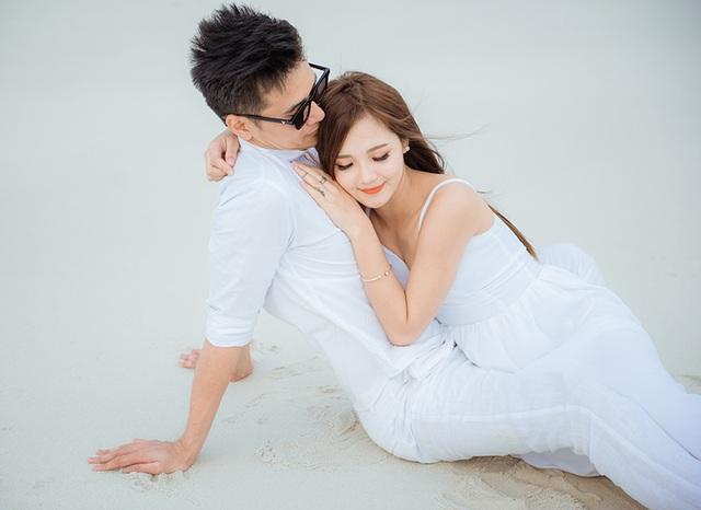 Thu Hương được chồng cầu hôn rất độc đáo.
