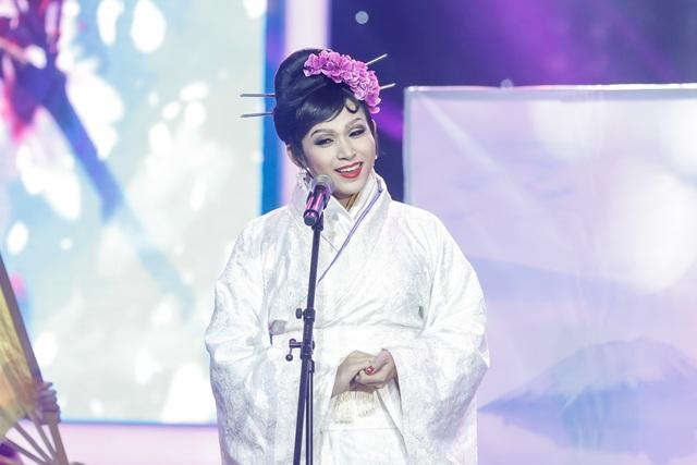 Jun Phạm hóa thân thành hoa hậu Nhật Bản