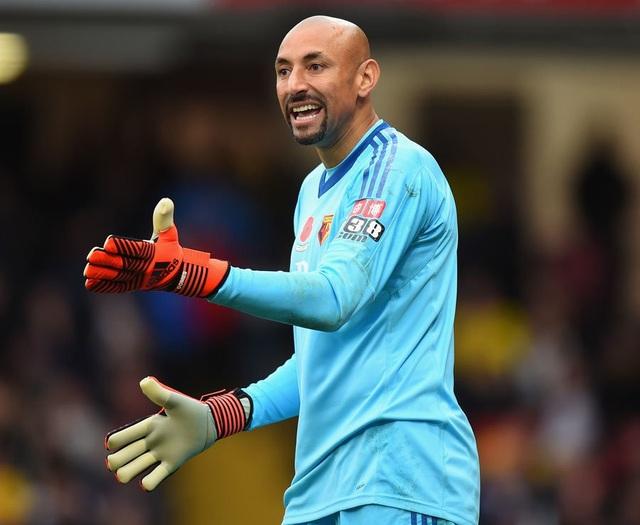 Thủ thành Gomes đã chơi tốt trong trận đấu với West Ham