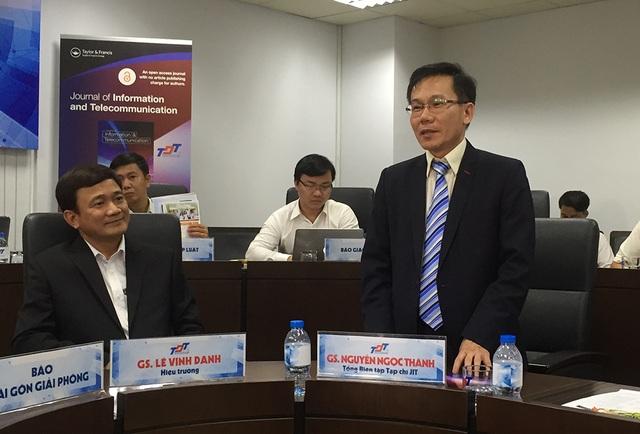 Giáo sư Nguyễn Ngọc Thành, Tổng biên tập JIT cam kết, việc bình duyệt các bài báo sẽ minh bạch và duy trì các tiêu chuẩn đánh giá cao nhất