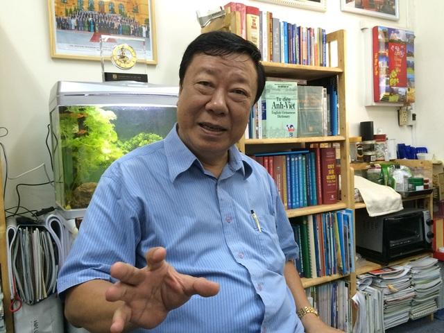 GS.TSKH Nguyễn Trọng Hòa – nguyên Viện trưởng Viện Nghiên cứu và Phát triển TPHCM