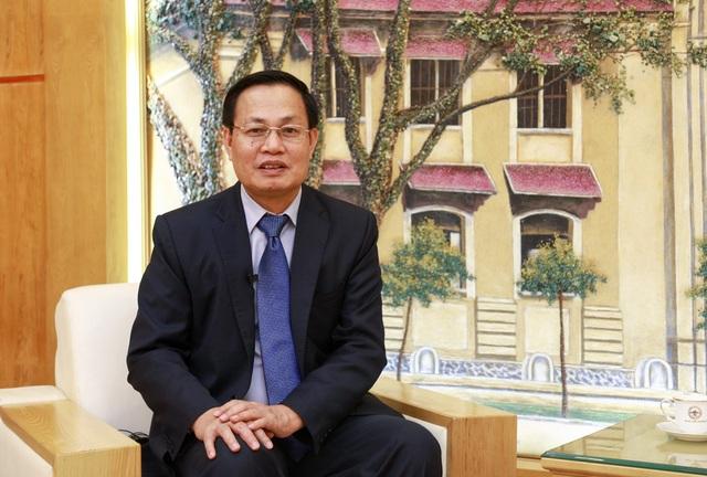 GS.TS Nguyễn Hữu Đức Phó Giám đốc ĐH QG Hà Nội