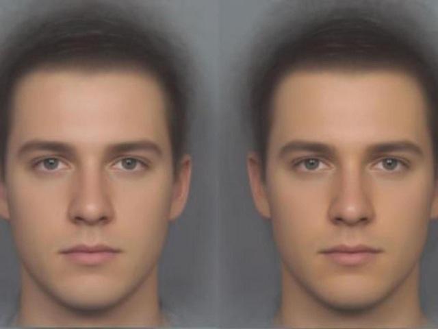 Khuôn mặt bên phải của một chàng trai sau khi uống bổ sung beta-caroten, được các cô gái đánh giá là cuốn hút hơn và khỏe mạnh hơn
