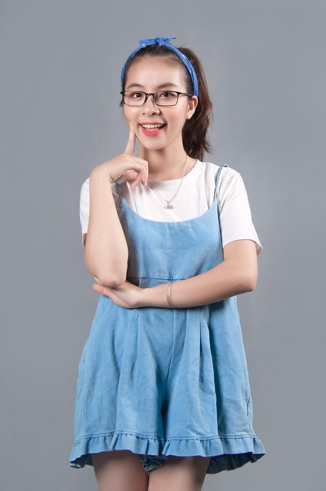 """Trần Thị Vân (SN 1997): Sinh viên trường CĐ Nghệ thuật Hà Nội. Cô từng tham gia đóng phim """"Chiều ngang qua phố cũ"""" và các sitcom trên mạng xã hội. Cô ước mơ trở thành diễn viên kịch được mọi người yêu quý."""