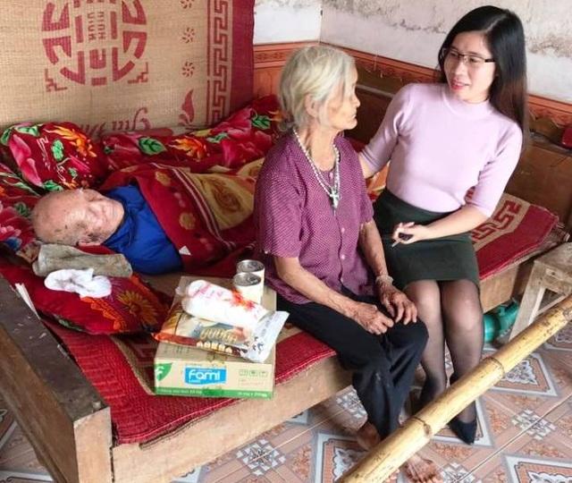 Những cảnh già neo đơn luôn được cô Trang quan tâm giúp đỡ