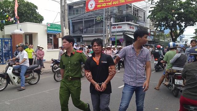 Đối tượng Lợi bị bắt giữ