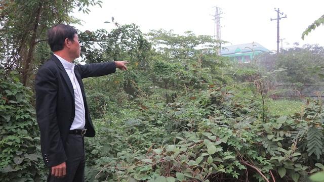 Ông Hồng cho biết, đất thu hồi của ông do UBND TP Vinh là trái với quy định.