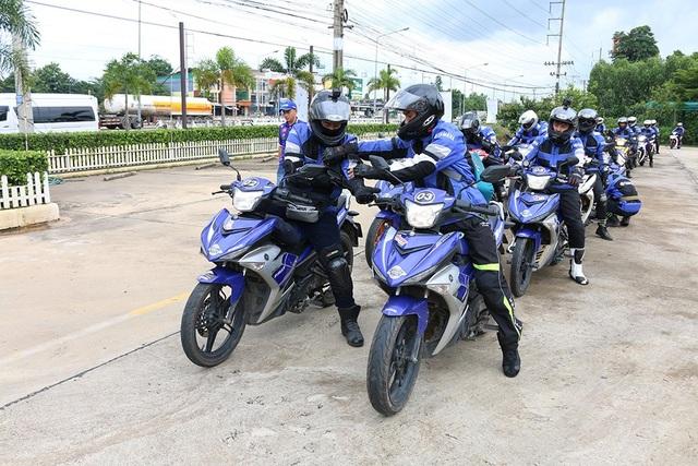 Xe Exciter được giới trẻ Việt Nam ưu chuộng vì phong cách thể thao hiện đại.