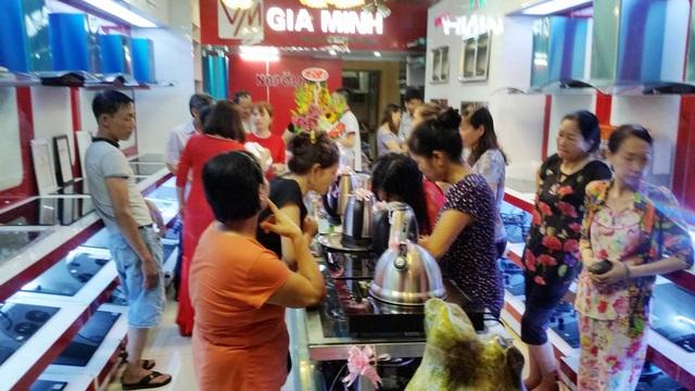 Showroom thứ 5 của Gia Minh Group tại Hải Phòng trở thành điểm mua sắm thiết bị bếp uy tín