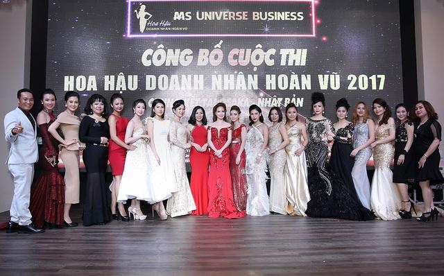 Cuộc thi hội tụ nhiều người đẹp là doanh nhân tại Việt Nam và nhiều nước trên thế giới