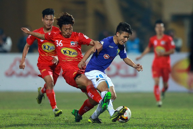Nhiều đội bóng tại V-League chưa được nhận thưởng Tết - Ảnh: Gia Hưng