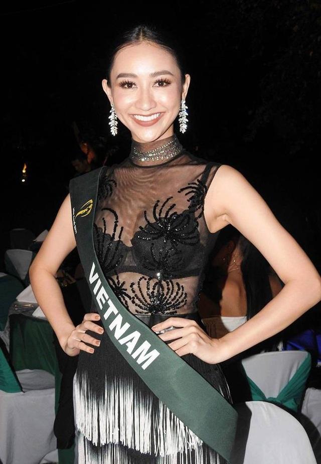 Lê Thị Hà Thu - Á hậu 1 Hoa hậu Đại dương 2014 sở hữu chiều cao 1m71, cân nặng 50kg. Cô sở hữu vẻ đẹp dịu dàng, thân hình rắn rỏi cùng vốn ngoại ngữ tốt và sự khéo léo trong giao tiếp. Năm 2015, người đẹp đại diện Việt Nam tham gia cuộc thi Hoa hậu Liên Lục Địa 2015 và lọt vào Top 14 chung cuộc.