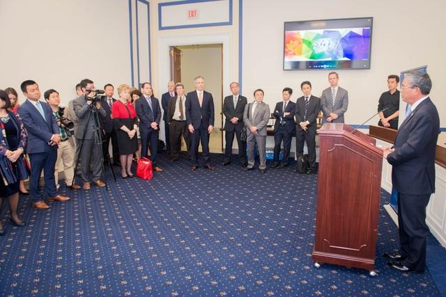 Lễ công bố thành lập Nhóm Nghị sỹ ủng hộ APEC tại trụ sở Quốc hội Hoa Kỳ
