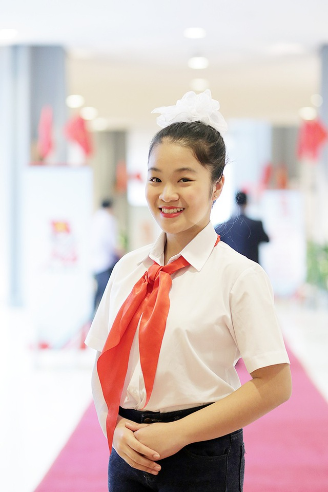 Thành tích ấn tượng của nữ đội viên phát biểu tại ĐH Đoàn toàn quốc XI - 3