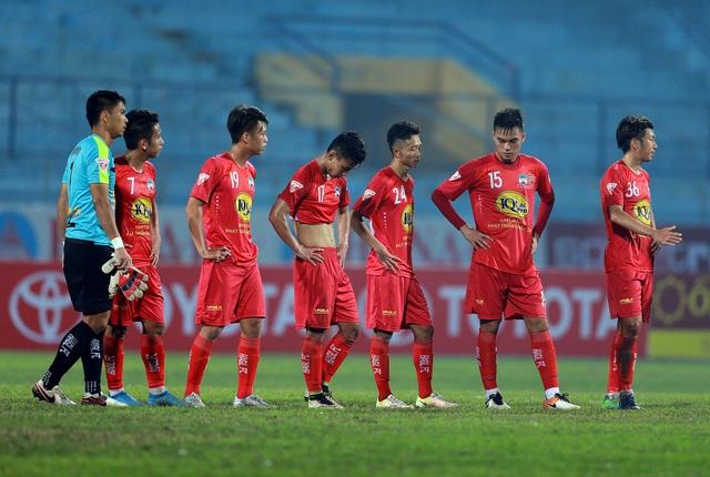 Cầu thủ HA Gia Lai phải đến 28 Tết mới chính thức được nghỉ - Ảnh: Gia Hưng