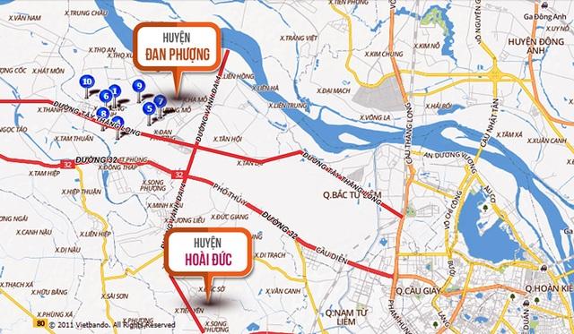 Nhiều trục đường lớn được đầu tư xây dựng để kết nối các huyện lân cận phía Tây Hà Nội với trung tâm