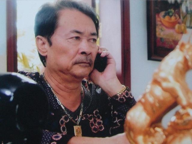 Nghệ sỹ Hai Nhất trong vai Bảy Xoài phim Những đứa con biệt động Sài Gòn. Ảnh: TL.