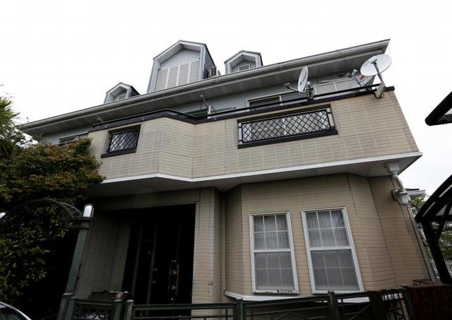 Nhà ông Seiichiro Nishimoto nhìn từ bên ngoài.