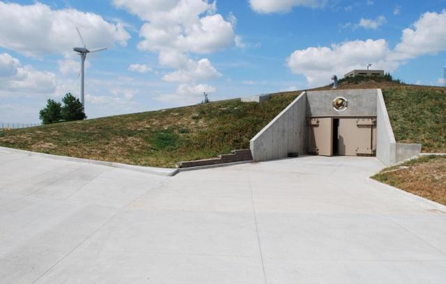 Cửa hầm trú ẩn ở Kansas. (Ảnh: Getty)