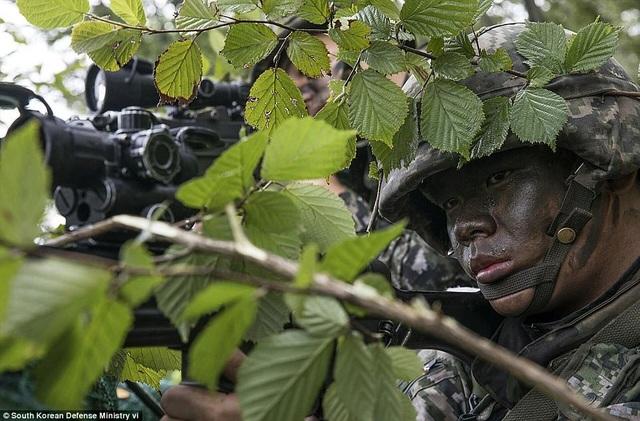 Quân đội Hàn Quốc gần đây liên tiếp tiến hành các cuộc tập trận với sự tham gia của nhiều lực lượng sau khi Triều Tiên tuyên bố thử thành công bom nhiệt hạch gắn trên tên lửa đạn đạo liên lục địa.