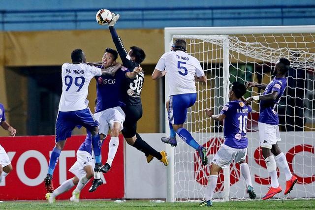 Ngôi vô địch V-League 2017 có thể được quyết định bằng chỉ số phụ (ảnh: Gia Hưng)
