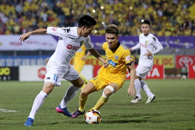 Thanh Hoá chưa thắng trận nào khi đối đầu với các đội bóng của bầu Hiển (ảnh: Gia Hưng)
