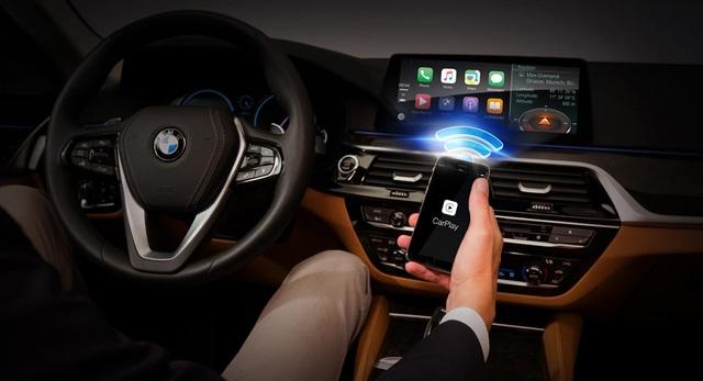 Có thể kết nối Apple CarPlay không dây trên xe BMW 5-Series - 1