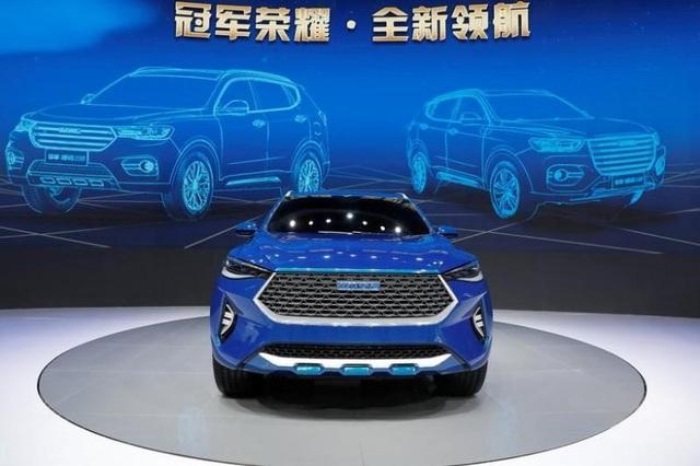 Mẫu Haval HB03 Hybrid của GreatWall Motors trưng bày tại Triển lãm ô tô Thượng Hải hôm 19/4/2017