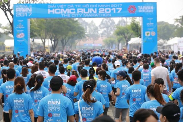 Những trợ thủ công nghệ đến từ Đài Loan cho các tín đồ thể thao tại HCMC RUN 2017 - 1