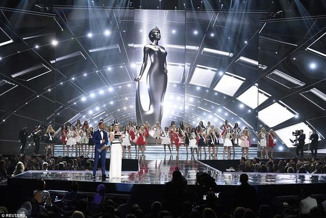 Sân khấu đêm chung kết cuộc thi Hoa hậu Mỹ 2017.