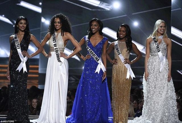 Top 5 cuộc thi Hoa hậu Mỹ 2017