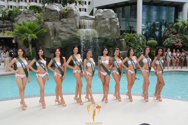Mãn nhãn với phần trình diễn áo tắm của Hoa hậu Trái đất 2017 - 56