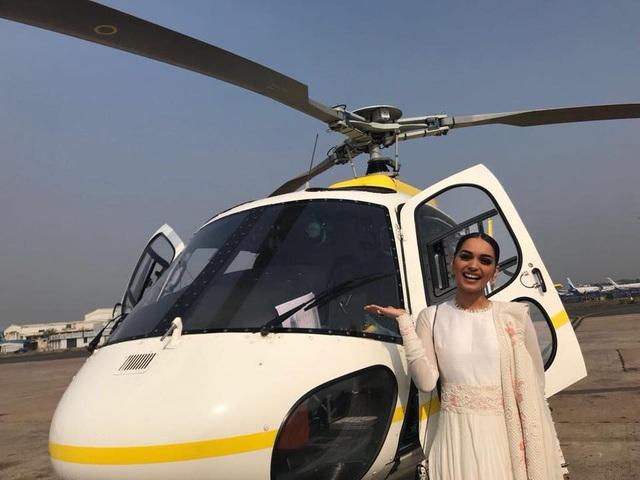 Cuộc sống của cô gái 20 tuổi - Manushi Chhillar đang bước sang một trang mới.