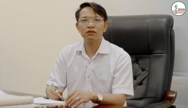 Ông Nguyễn Văn Sinh - Hiệu trưởng trường Cao đẳng Dược Hà Nội.