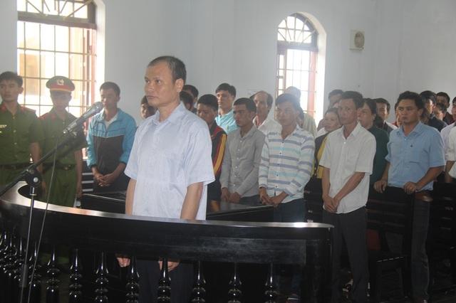 Bị cáo Bùi Ngọc Thạch tại phiên tòa sơ thẩm