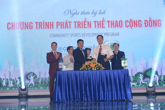 Sacomreal hợp tác cùng Sở Văn Hóa & Thể Thao TPHCM phát triển thể thao cộng đồng