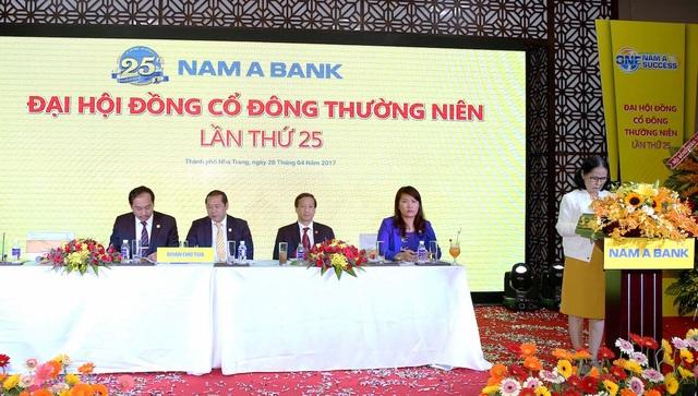 Nam A Bank thông qua mục tiêu tăng vốn điều lệ lên 5.000 tỷ đồng