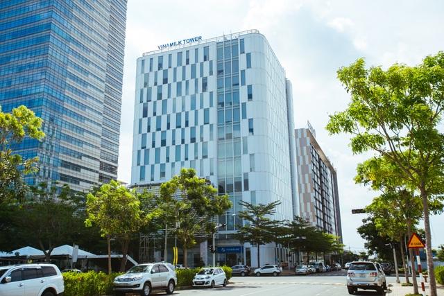 Trụ sở chính Công ty Cổ phần Sữa Việt Nam tại Thành phố Hồ Chí Minh.