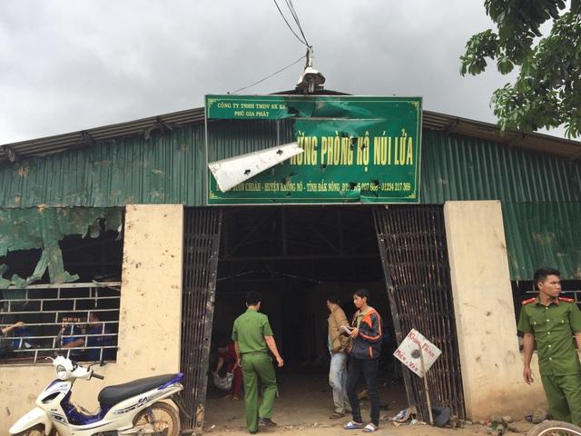 Được UBND tỉnh Đắk Nông giao đất nhưng giữa công ty và người dân xâm canh trái phép liên tục xảy ra tranh chấp