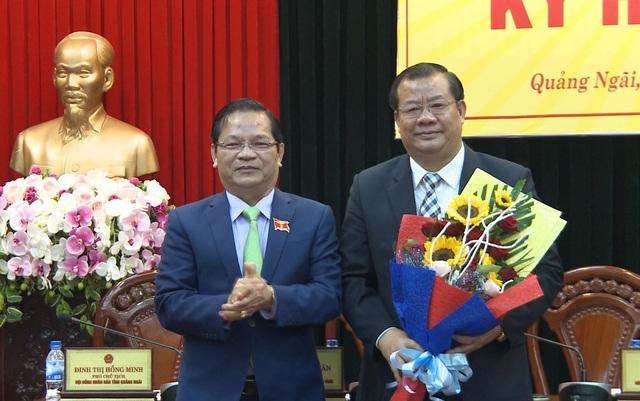 Ông Nguyễn Tăng Bính được bầu giữ chức Phó Chủ tịch UBND tỉnh Quảng Ngãi