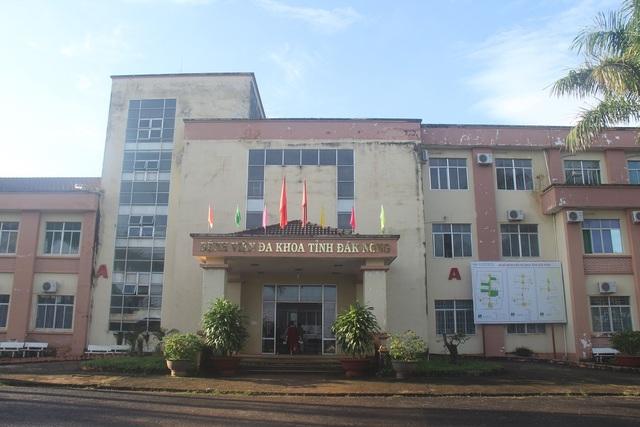 Bệnh viện đa khoa tỉnh Đắk Nông nơi xảy ra nhiều sai phạm dưới thời ông Cường