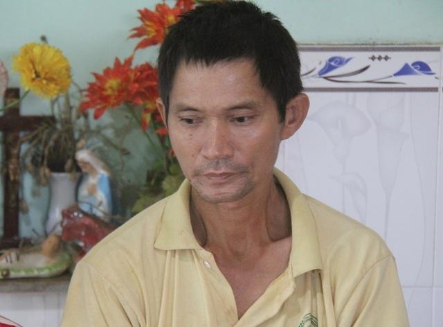 Trong lần đưa con đi điều trị bệnh ung thư, chú Thanh cũng phát hiện mình mắc ung thư gan