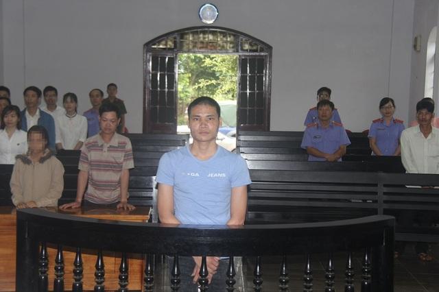 Bị cáo Lường Văn Mạnh tại phiên tòa xét xử sơ thẩm