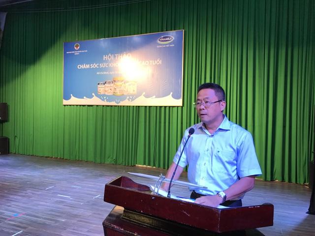 Ông Nguyễn Ngọc Thành – Giám đốc Kinh doanh khu vực Hồ Chí Minh phát biểu tại hội thảo.