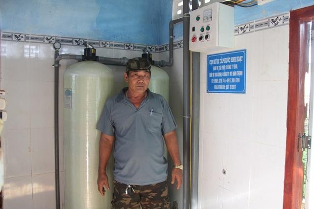 Công trình giúp học sinh vùng sâu vùng xa được sử dụng nguồn nước sạch nhưng lại được đặt ở vị trí không hợp lý