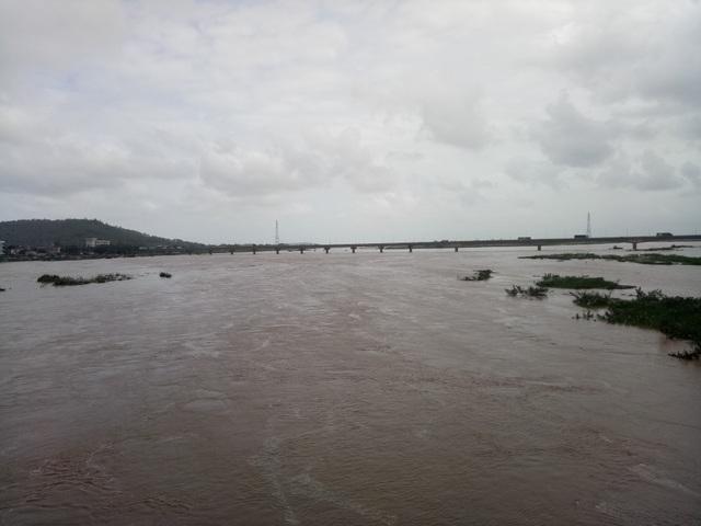 Dự báo trong đêm ngày 3/11 trên địa bàn Quảng Ngãi sẽ có mưa rất to, mực nước trên các sông có khả năng lên rất cao